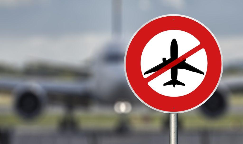 Flugverbotsschild- Bild von Gerd Altmann auf Pixabay