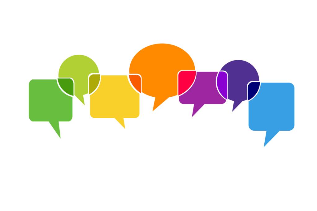 Sprechblasen: Bild von Gerd Altmann auf Pixabay